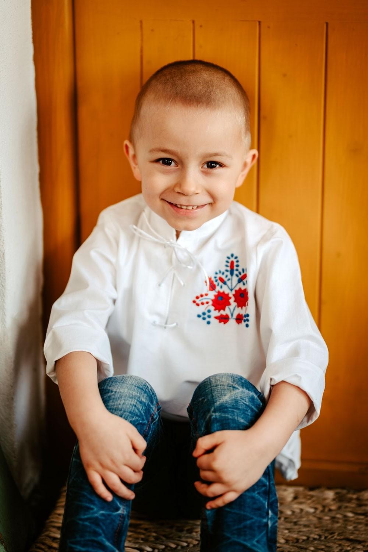 Chlapčenská FOLK košeľa - CHK001
