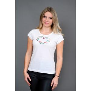 Dámske tričko - Srdiečko T015