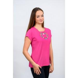 Dámske tričko - Srdiečko T017