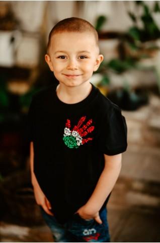 Detské tričko s trikolórou - UNISEX - DT001