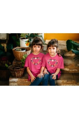 Dievčenské tričko - Srdiečko DT003