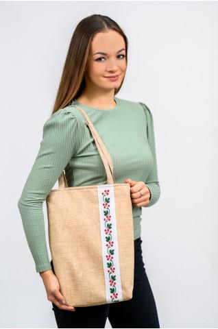 Vyšívaná, dámska taška - TS017