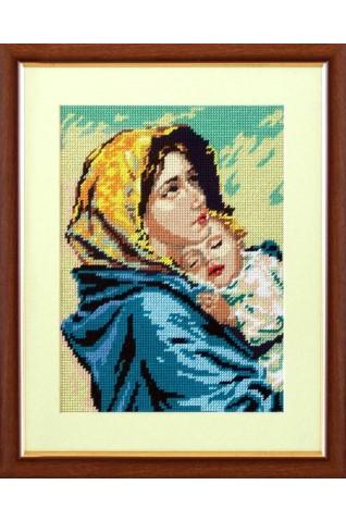 Madona s dieťaťom OB001